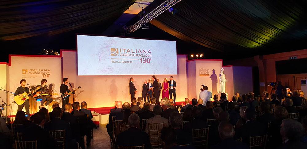 convention italiana assicurazion, allestimento area